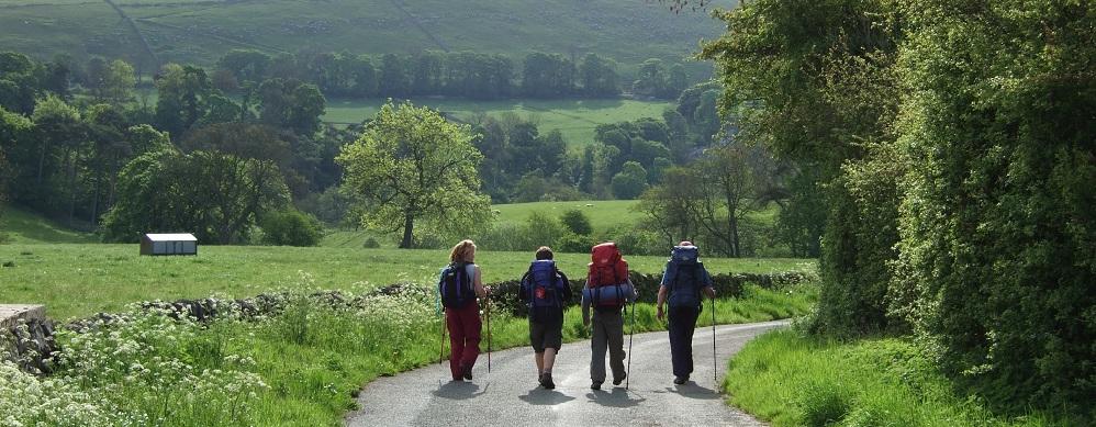 Duke of Edinburgh Award Expeditions walking