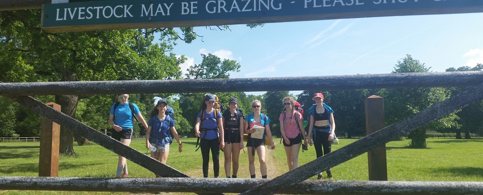 Duke of Edinburgh Award Expeditions Bronze Girls