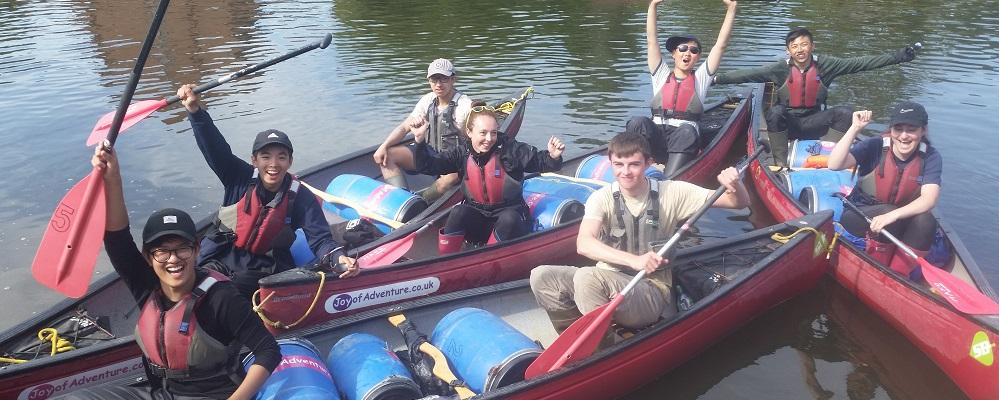 Duke of Edinburgh Award Expeditions Canoe assessed