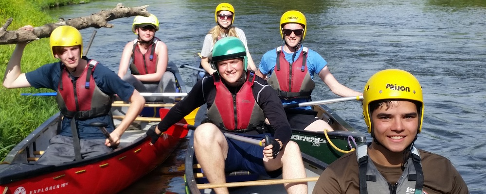 Duke of Edinburgh Award Expeditions by canoe