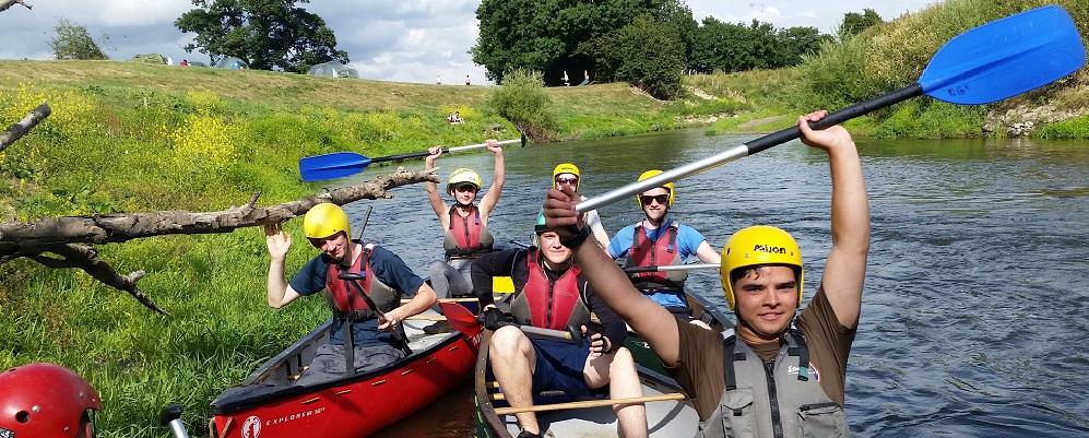 Duke of Edinburgh Award Expeditions Canoe Golds