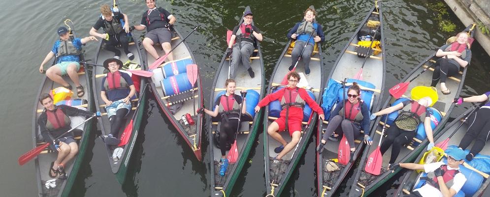 Duke of Edinburgh Award Expeditions Canoe expeditions