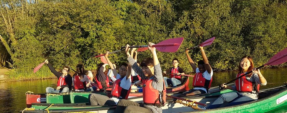Duke of Edinburgh Award Expeditions Canoe training