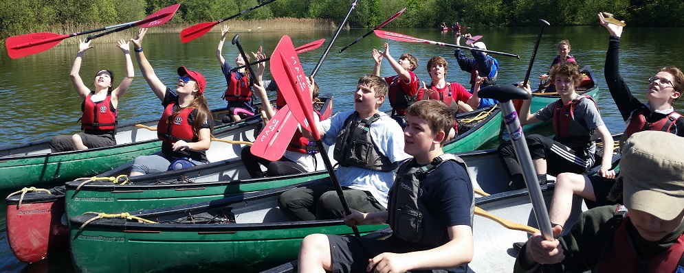 Duke of Edinburgh Award Expeditions Canoe training Milton